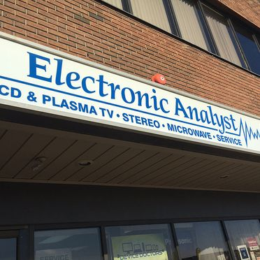 Electronic Analyst store entrance